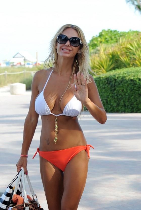 Shauna Sand - Hot Bikini Candids at Miami Beach-02