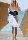 Shauna Sand in a Blue Bikini -05