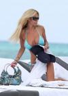 Shauna Sand in a Blue Bikini -09