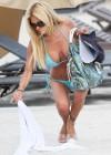 Shauna Sand in a Blue Bikini -11