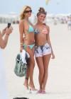 Shauna Sand in a Blue Bikini -17
