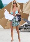 Shauna Sand in a Blue Bikini -24
