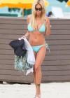 Shauna Sand in a Blue Bikini -28