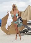 Shauna Sand in a Blue Bikini -30