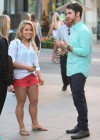 Shawn Johnson leggy in shorts-07