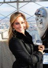 Shawn Johnson At the Empire State Building -06