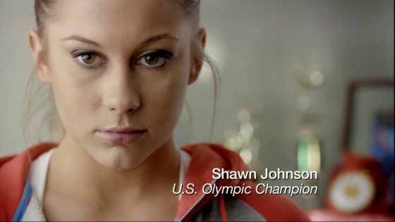 Shawn Johnson – Bounty Commercial Ad-03