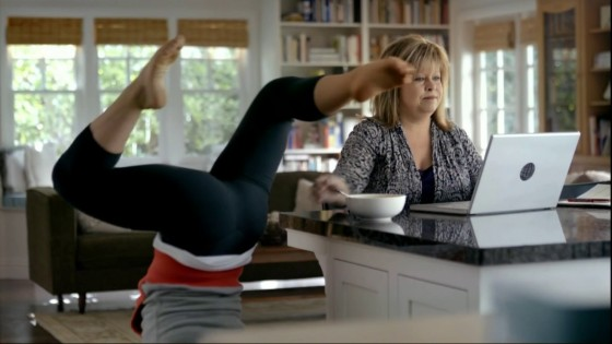 Shawn Johnson - Cute In Bounty Commercial Ad