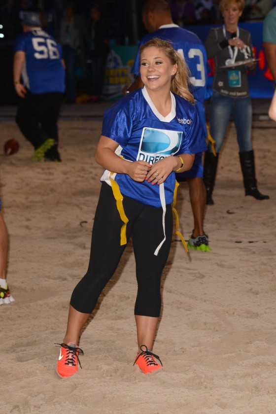 Shawn Johnson - DIRECTV'S 2013 Celebrity Beach Bowl