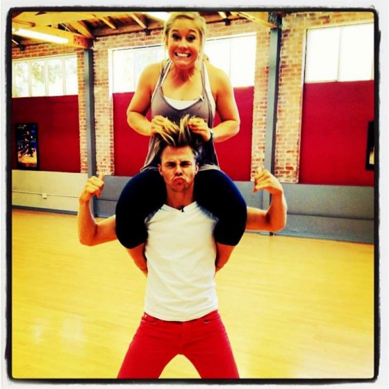 Shawn Johnson New twitpics