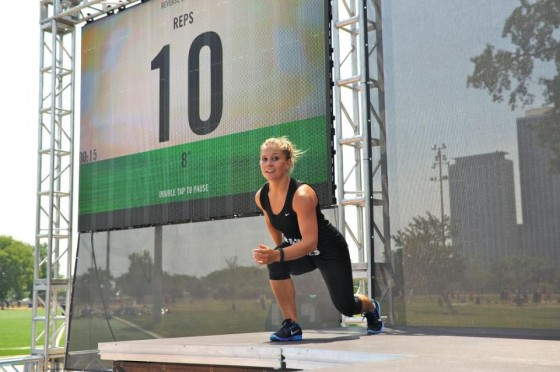 "Shawn Johnson - Nike Event ""Make the Rules"""