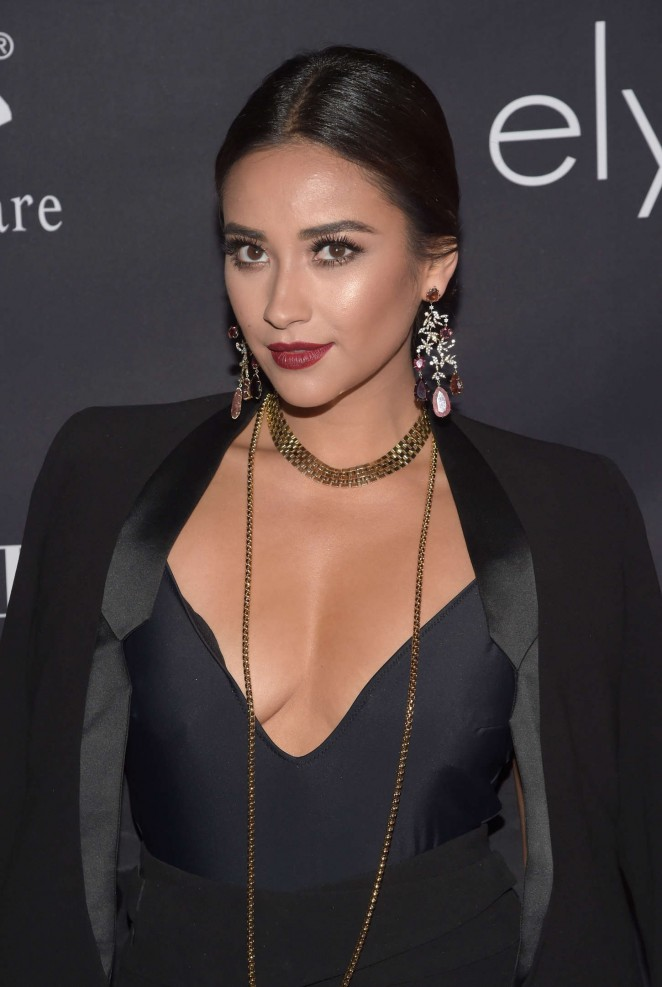 Shay Mitchell – 10th anniversary Pink Party in Santa Monica