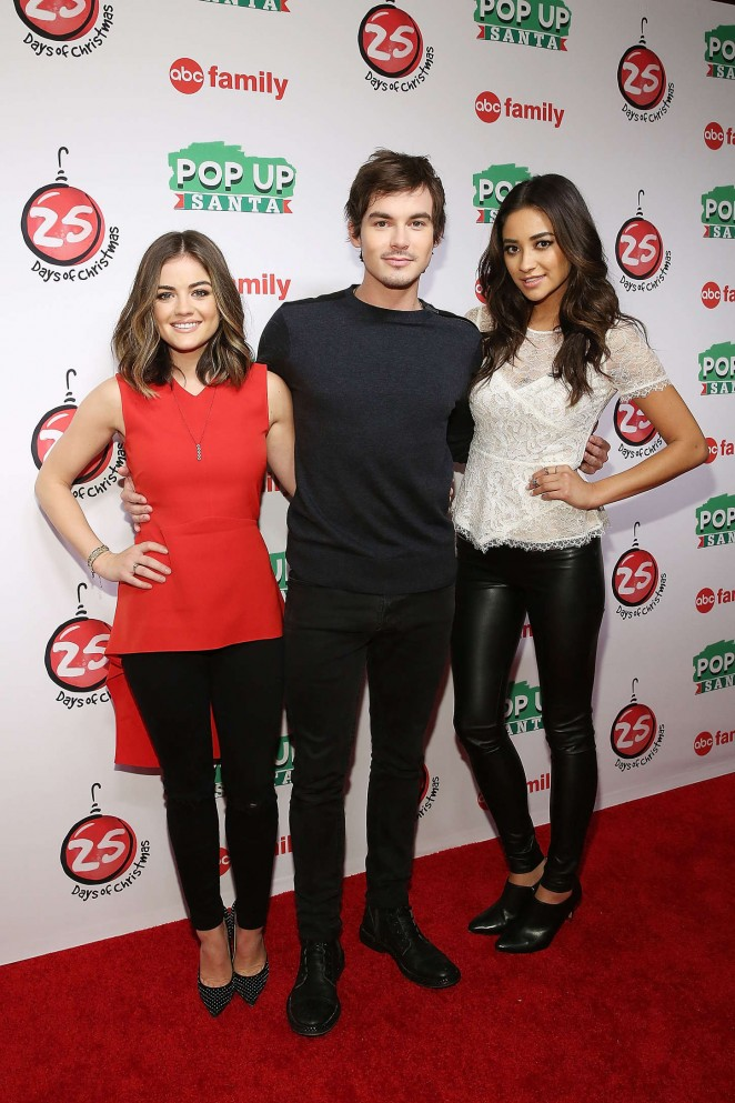 shay mitchell 2014 abcs 25 days of christmas celebration 05 - Abc 25 Days Of Christmas Schedule 2014