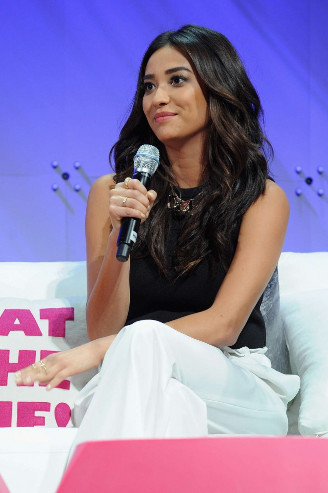 Shay Mitchell - Cosmopolitan Fun Fearless Life Conference in NYC