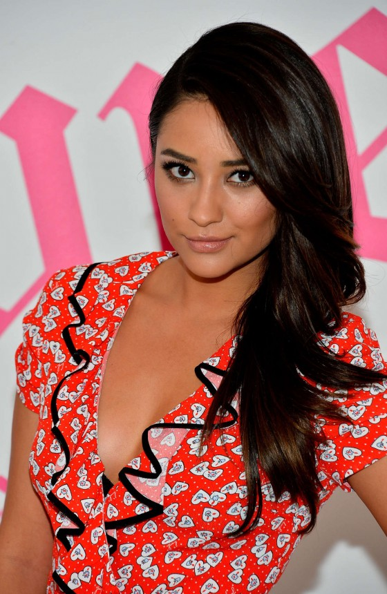 "Shay Mitchell Hot In dress at ""Couture La La"" 2013"