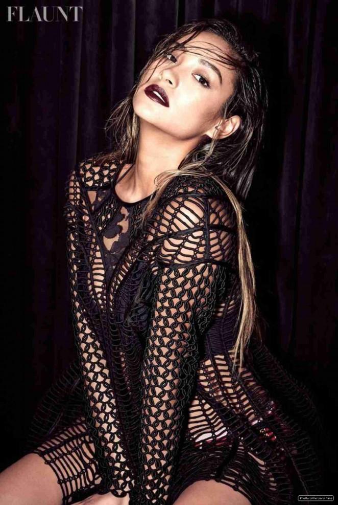 Shay Mitchell – Flaunt Magazine (November 2014) adds