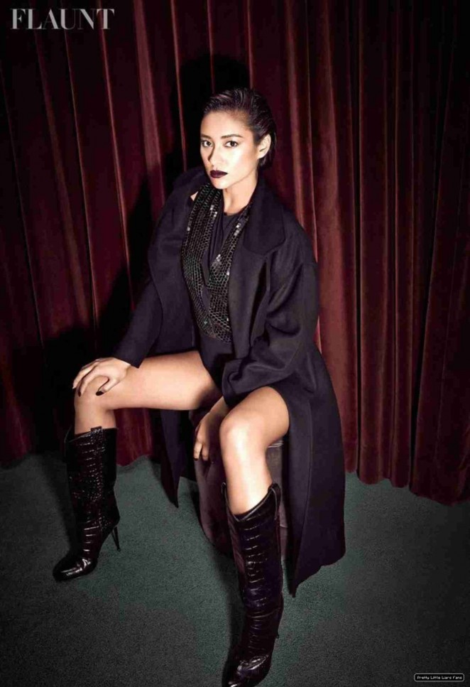 Shay Mitchell - Flaunt Magazine (November 2014)