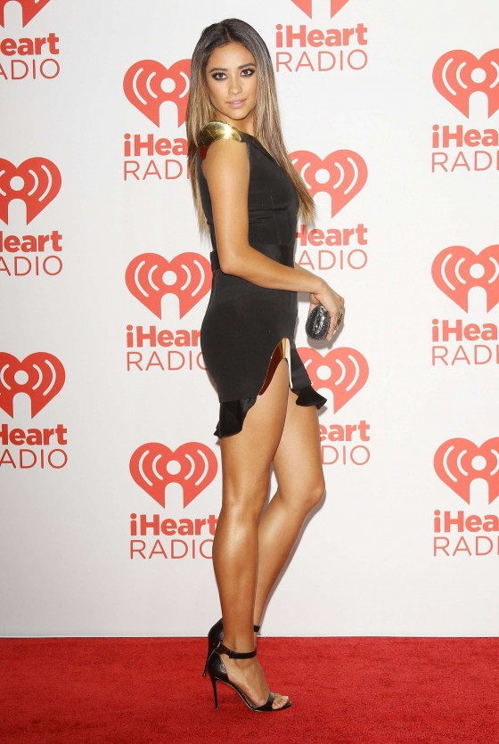 Shay Mitchell Photos: iHeartRadio 2013 Music Festival -01