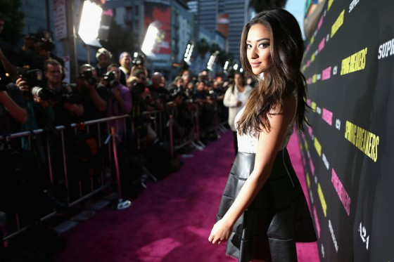 Shay Mitchell – Spring Breakers premiere in LA