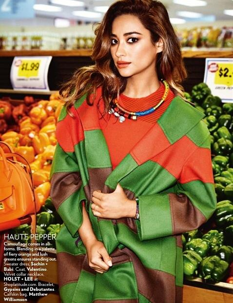 Shay Mitchell - Vogue India Magazine (September 2014)