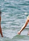Shayne and Bria Murphy Bikinis on the Beach in Maui -01