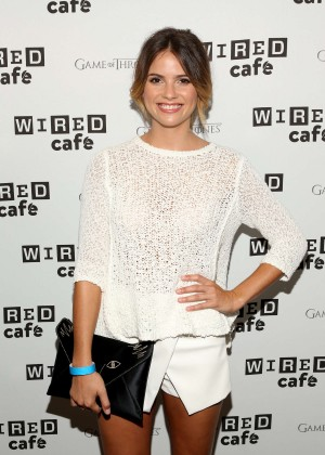 Shelley Hennig - WIRED Cafe at 2014 Comic-Con in San Diego