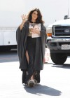 Shenae Grimes show her legs on the set of 90210-03