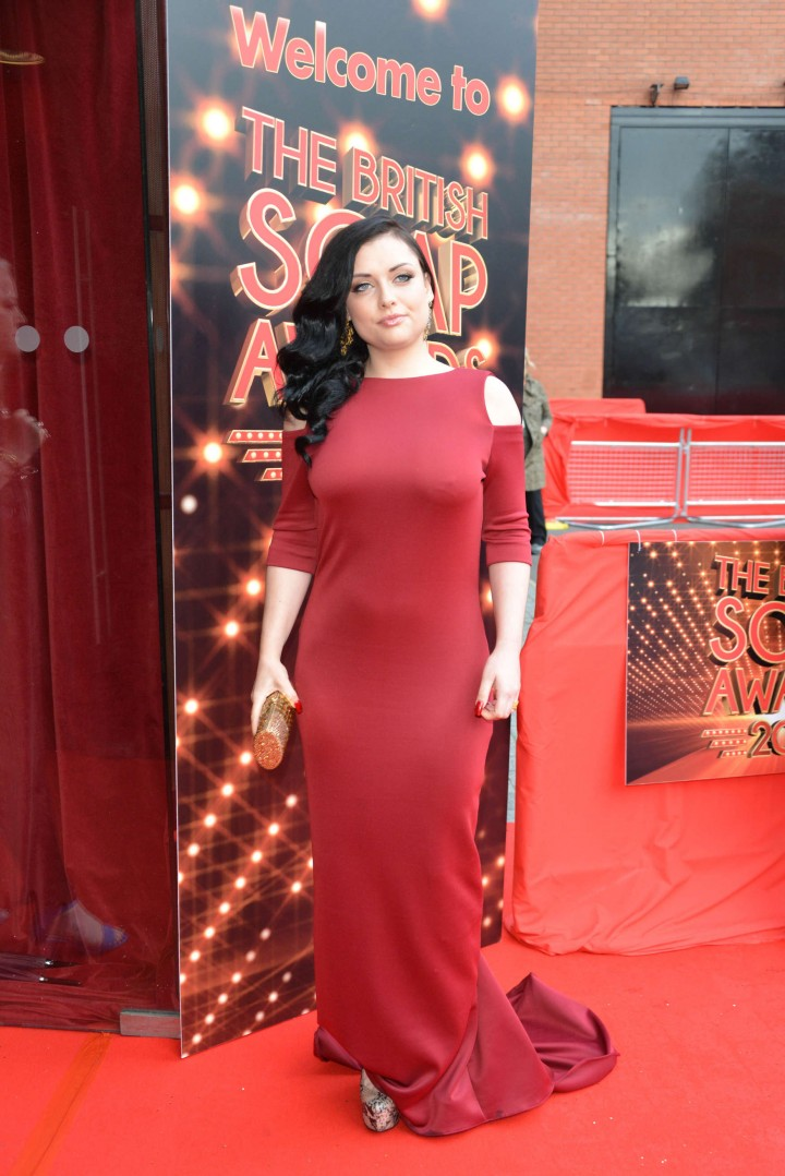 Shona McGarty: British Soap Awards 2014 -01