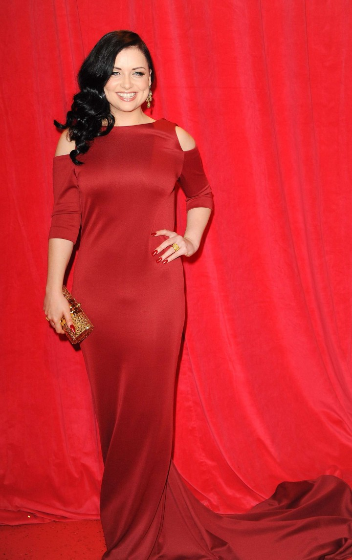 Shona McGarty: British Soap Awards 2014 -14
