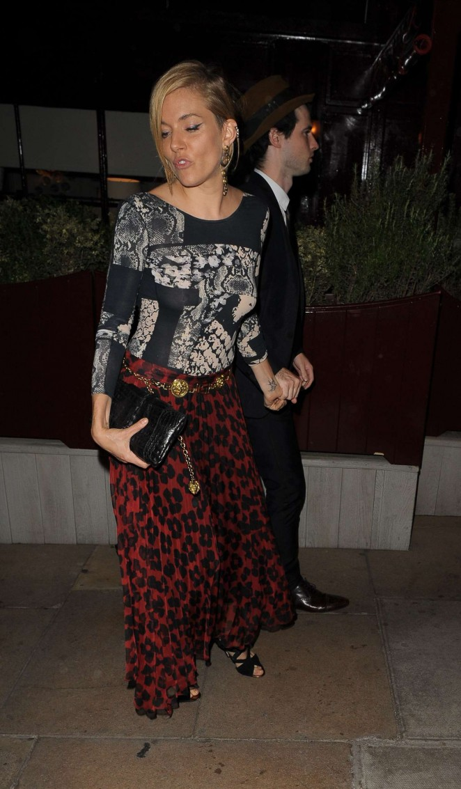 Sienna Miller: AnOther Magazines Party -11