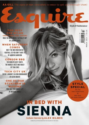 Sienna Miller: Esquire UK magazine (March 2014) -04