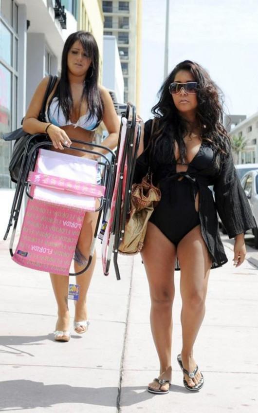 Snooki and JWoww Bikini in Miami Beach