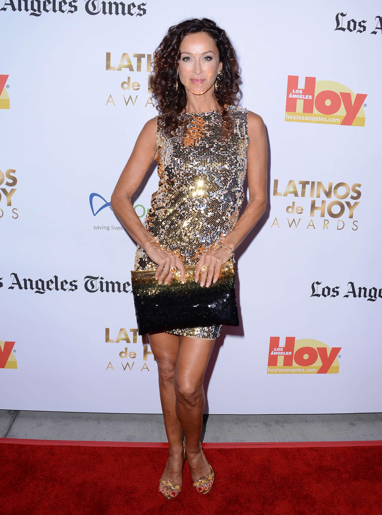 Sofia Milos 2013 : Sofia Milos: Latinos de Hoy Awards 2013 -01