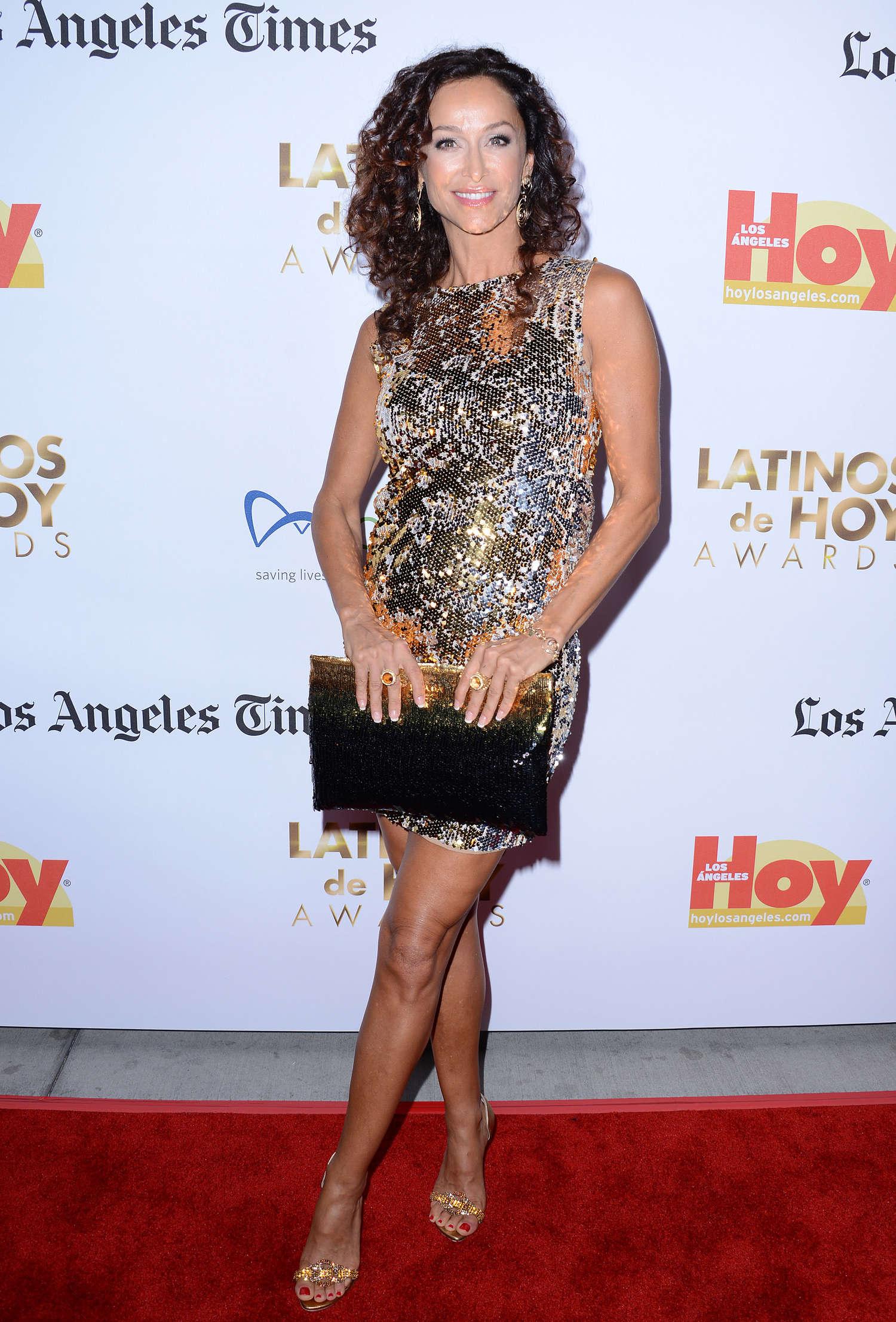 Sofia Milos 2013 : Sofia Milos: Latinos de Hoy Awards 2013 -08