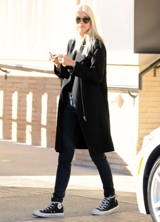Sofia Richie Style - Out and About in Beverly Hills
