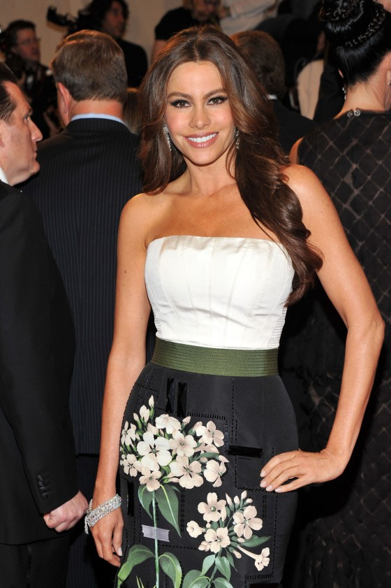 Sofia Vergara – 2011 MET Ball in New York