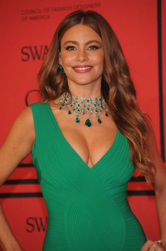 Sofia Vergara at 2013 CFDA Fashion Awards in New York -02