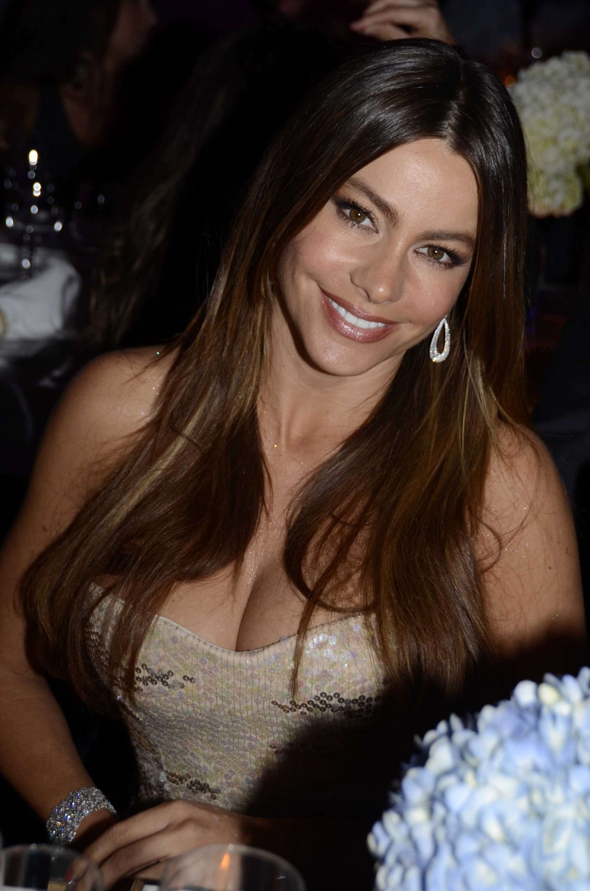 cleavage Sofia vergara