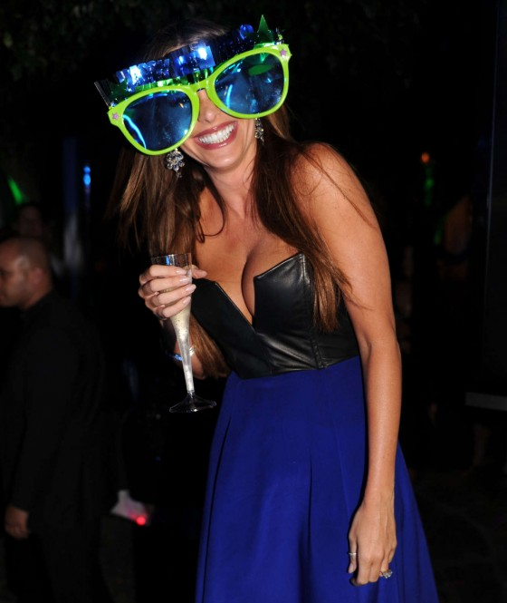 Sofia Vergara at Delano South Beach Rings in 2013 in Miami Beach
