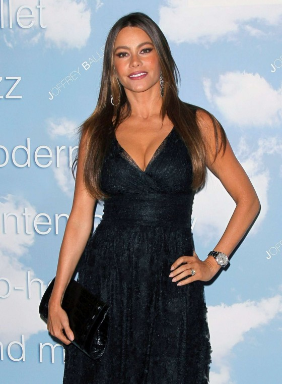 Sofia Vergara hot at Joffrey Ballet Schools event at the Valley Performing Arts in LA