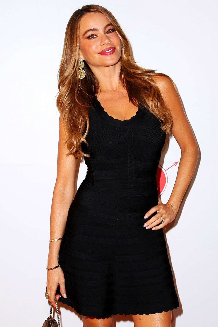Sofia Vergara at the Qantas party in Sydney