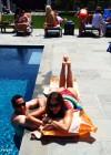 Sofia Vergara - Bikini by the pool -04