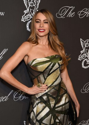 Sofia Vergara - Gabrielle's Angel Foundation Angel Ball 2014 in NYC