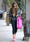 Sofia Vergara In Spandex leaves the gym in LA-13