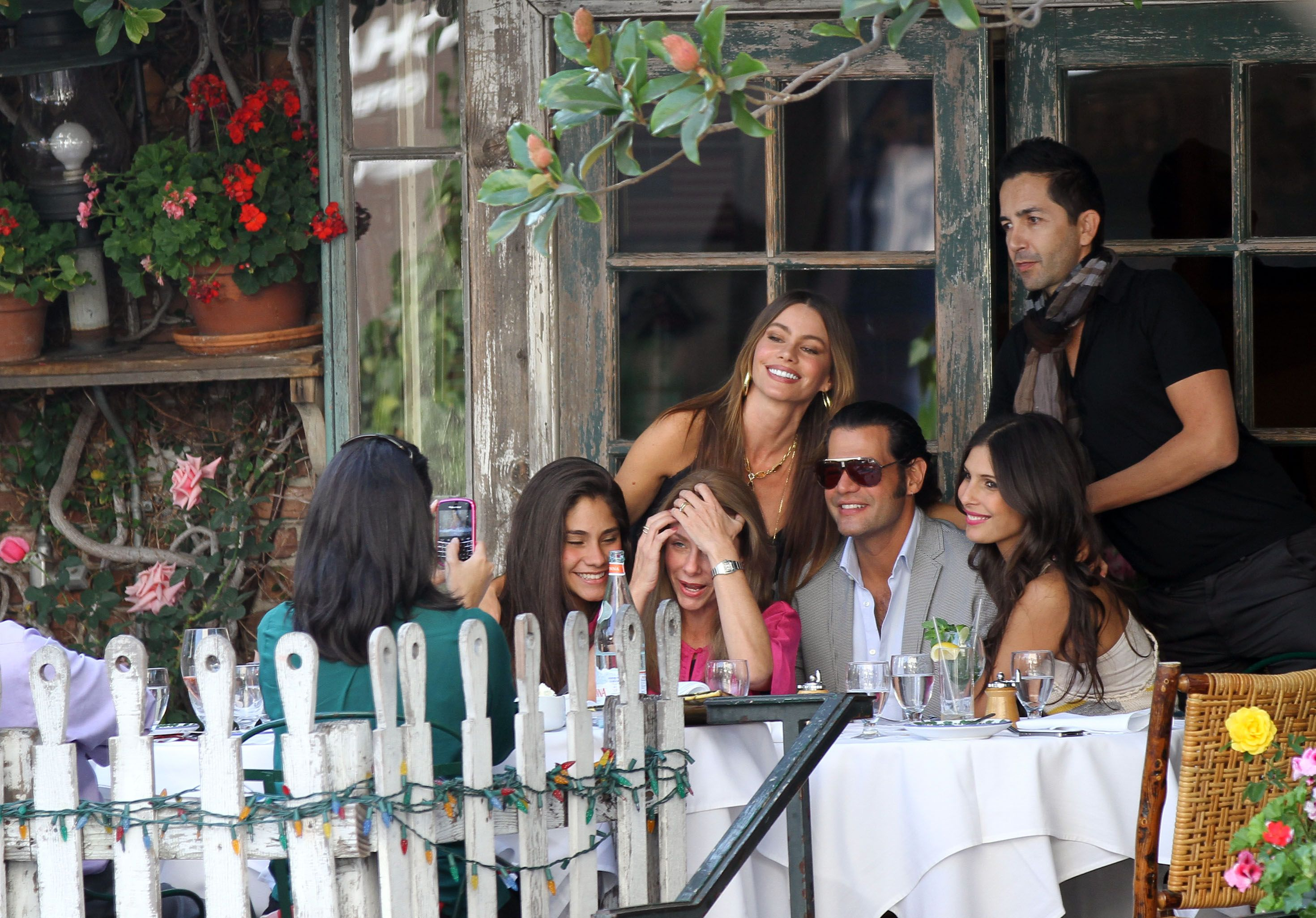 Celebrity Sighting Place - Review of The Ivy, Los Angeles ...