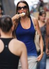 Sofia Vergara - Licking ice cream in New York-03