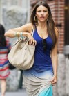 Sofia Vergara - Licking ice cream in New York-04