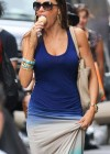 Sofia Vergara - Hot in blue tshirt in New York