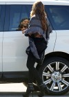 Sofia Vergara at Modern Family Set in Los Angeles-06