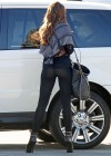 Sofia Vergara at Modern Family Set in Los Angeles-09